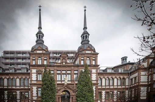 Das historische Marienhospital Stuttgart Foto: Lichtgut/Achim Zweygarth