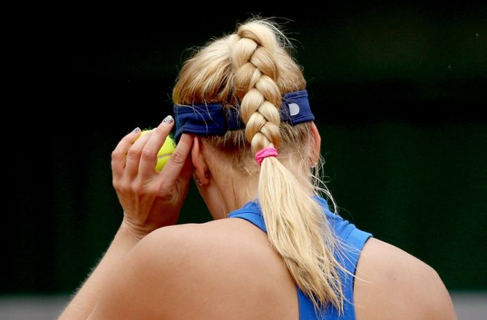Tennis: Lisicki weint nach French-Open-Aus
