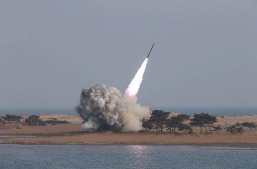 Weiterer Raketenstart offenbar gescheitert