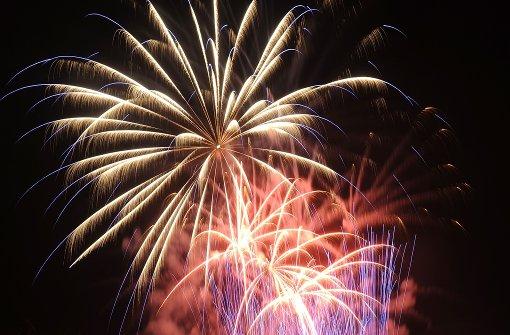 Feuerwerk im Blühenden Barock