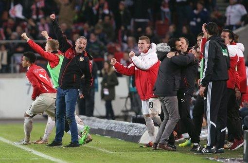 """Das """"teure Stück"""" hat VfB-Sieg überlebt"""