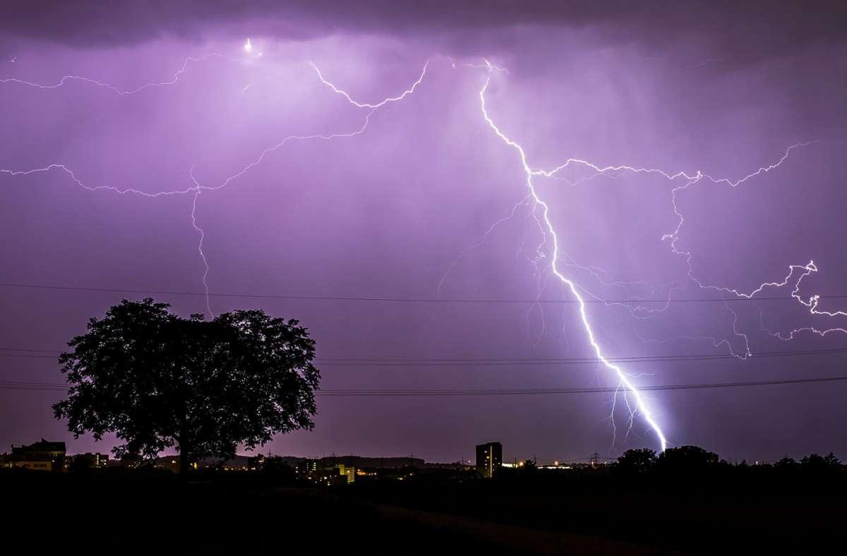 Gewitter und Starkregen in Mainz möglich
