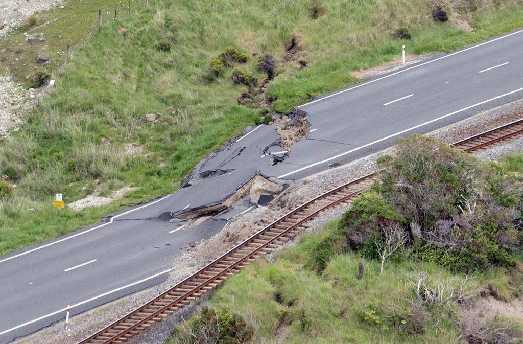 Erdbeben In Neuseeland Verwustete Orte Zerstorte Strassen Panorama Stuttgarter Nachrichten