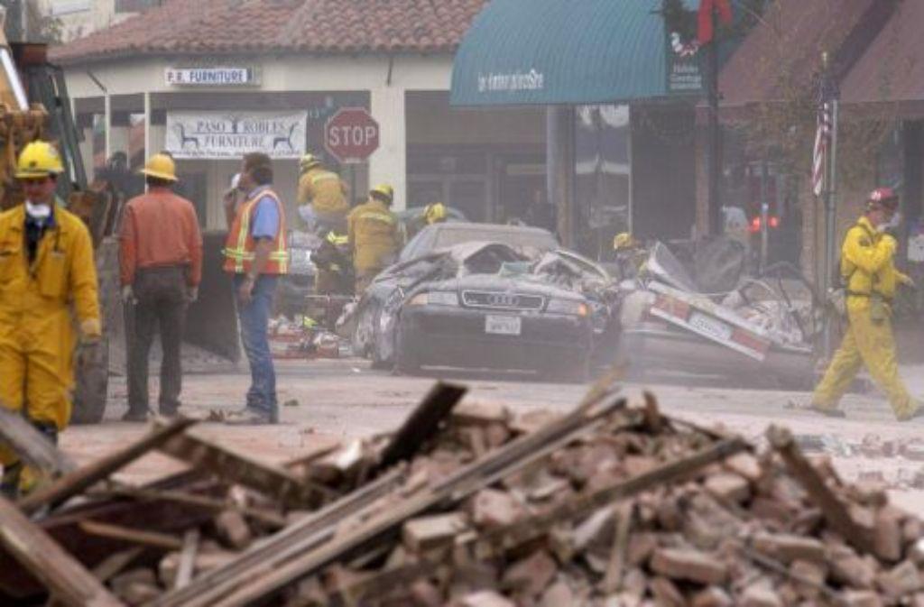 Kalifornien Furcht Vor Mega Erdbeben Panorama Stuttgarter