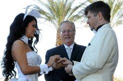 Die Hochzeit von Mia Gray und Oliver Burghart in den USA.p Foto: Markus Schnitzler