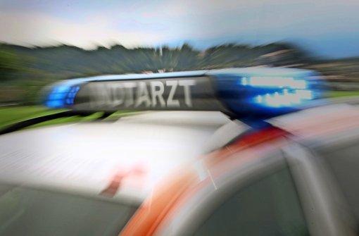 Rettungskräfte konnten einen Zweijährigen in Sindelfingen-Maichingen reanimieren, der von einem Garagentor eingeklemmt worden war. (Symbolbild) Foto: dpa