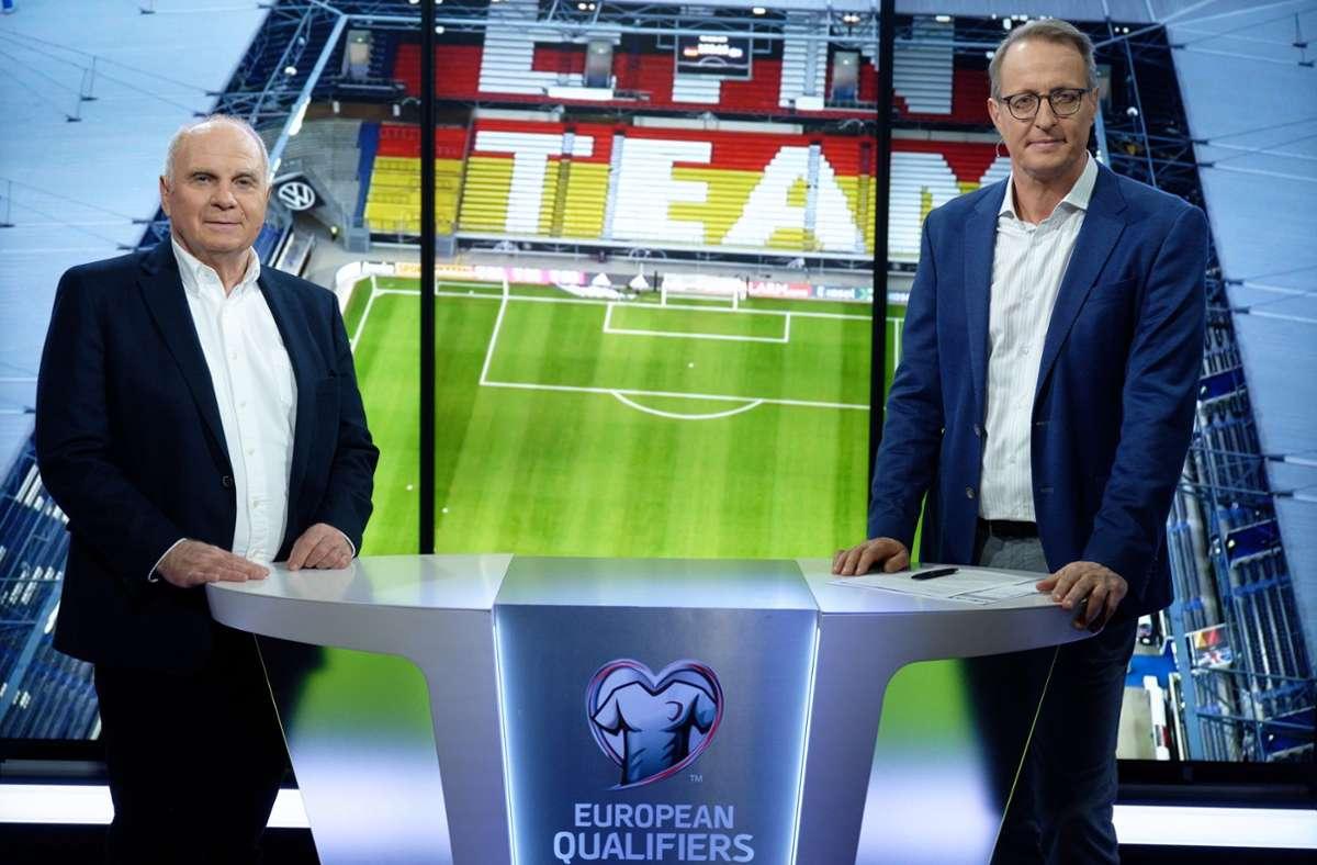 Uli Hoeness So Aussert Er Sich Zu Einer Zukunft Als Tv Experte Bei Rtl Fussball Stuttgarter Nachrichten