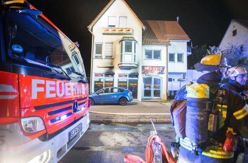 Ein Leichtverletzter bei Feuer in Pizzaservice