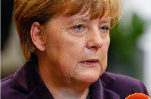 Angela Merkel fordert eine harte Antwort des Rechtsstaats. Foto: dpa