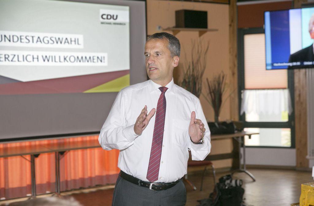 CDU im Landkreis - Der Bundestagswahlkampf hat längst begonnen - Stuttgarter Nachrichten