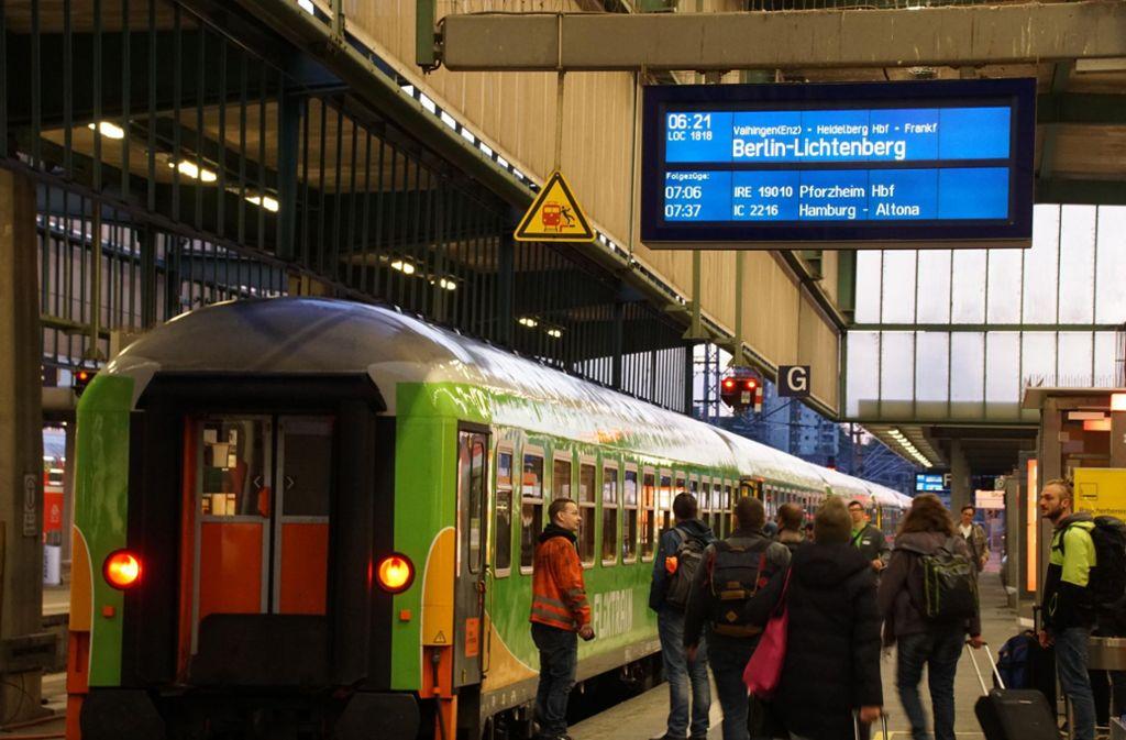 Zug Von Frankfurt Nach Stuttgart