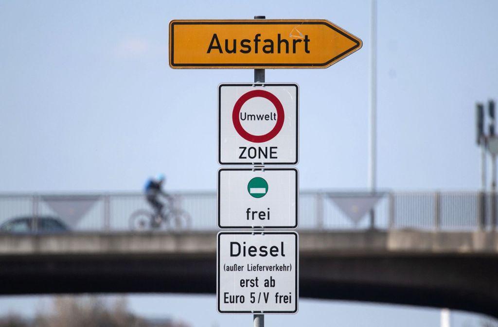 Stuttgart Fahrverbot