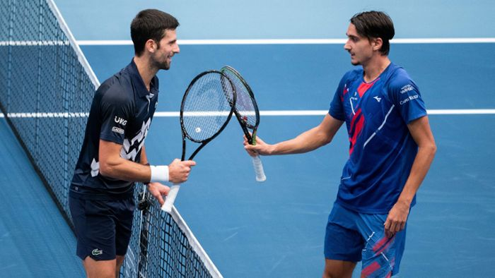 Novak Djokovic scheitert in Wien sensationell an Lucky Loser