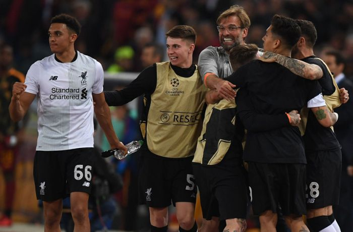 AS Rom gegen FC Liverpool: Jürgen Klopp im Champions-League-Finale