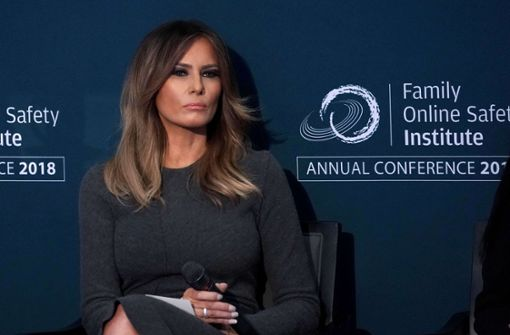 US-First Lady Melania Trump zeigt Kante. Foto: GETTY IMAGES NORTH AMERICA