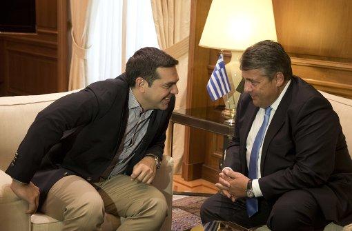Gabriel gegen neue Kürzungen in Griechenland