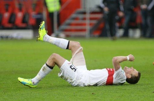 Kevin Großkreutz hat sich beim Spiel gegen Ingolstadt verletzt. Foto: Pressefoto Baumann