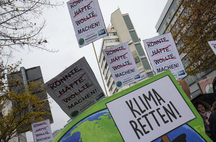 Fridays for Future in Stuttgart: Heißes Date mit Mutter Erde am Valentinstag