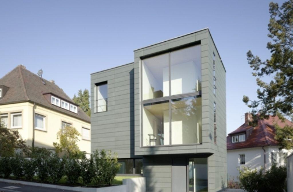 ein ausgezeichnetes haus das geb ude k 2 im stuttgarter westen entworfen vom b ro bottega. Black Bedroom Furniture Sets. Home Design Ideas