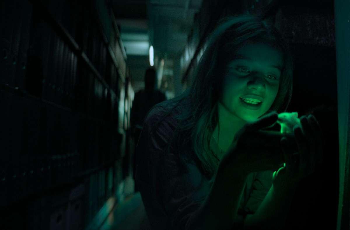 "Jessica Schwarz als Forscherin Tanja Lorenz in der Netflix-Serie ""Biohackers"" - Stuttgarter ..."