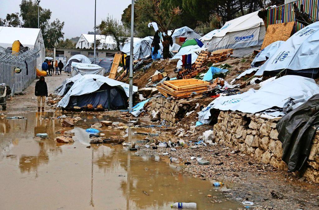 Moria Flüchtlingslager