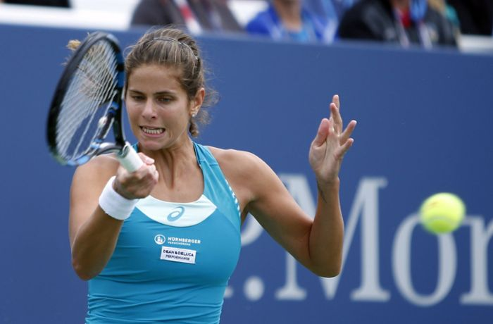 US-Open in New York: Julia Görges verpasst Viertelfinal-Einzug