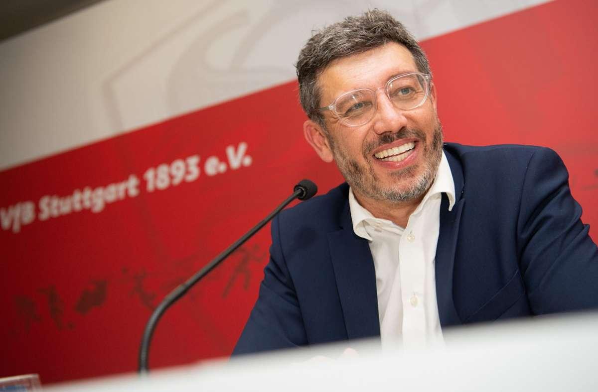 Führungskrise beim VfB Stuttgart - Claus Vogt wendet sich an die VfB-Mitglieder - Stuttgarter Nachrichten