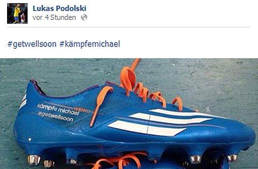 Lukas Podolski Schuhe