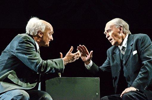 Begegnung mit Adenauer