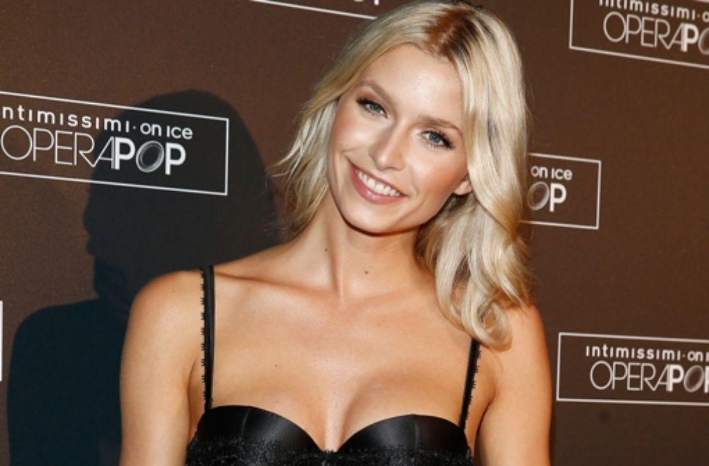Germanys Next Topmodel Lena Gercke Ist Heidis Vorzeigemodel