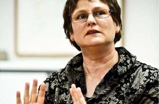 """""""Hallo, geht's noch?"""" Für ihre SPD-Kollegen hat Leni Breymaier nicht immer Verständnis. Foto: Leif Piechowski"""