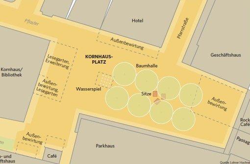 Public Viewing müsste am Kornhausplatz umziehen