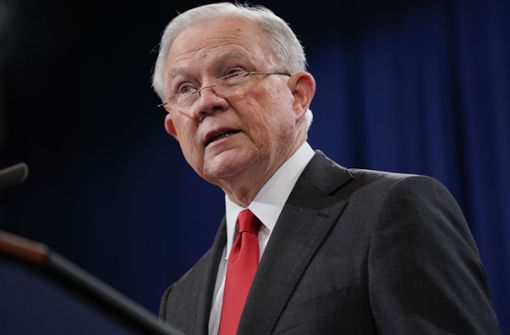Jeff Sessions ist nicht mehr US-Justizminister. Foto: AP