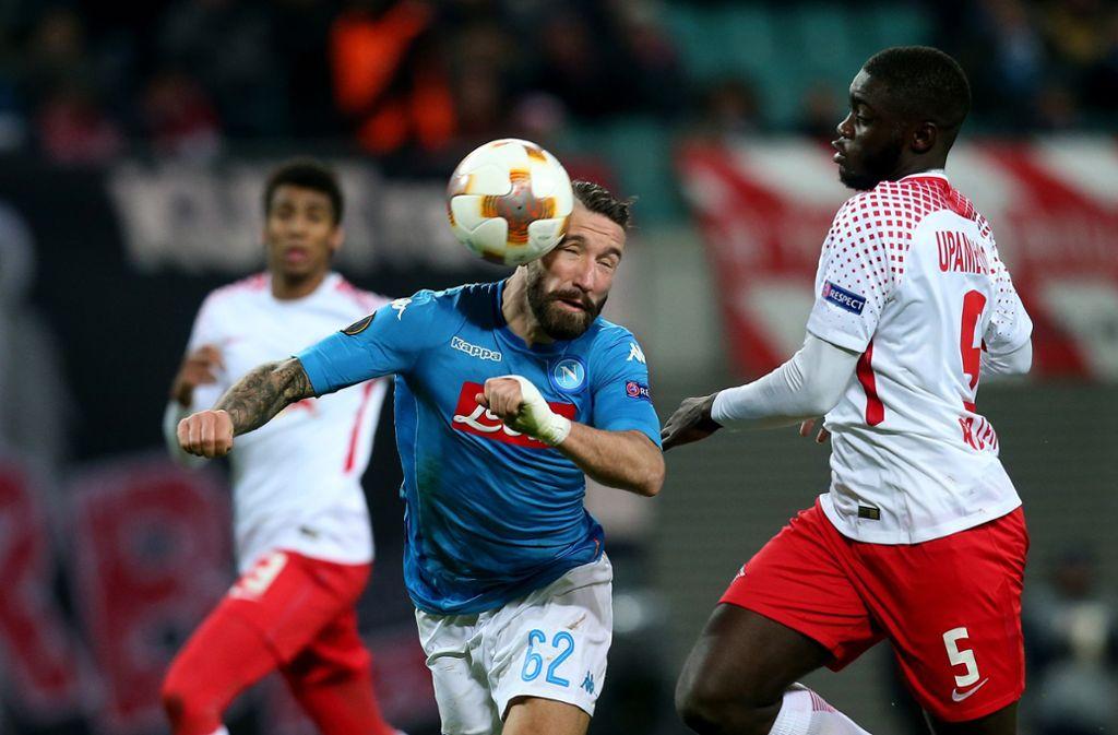 Trotz Niederlage Gegen Neapel Leipzigs Europapokal Reise