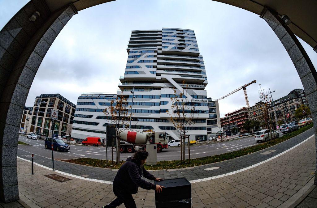 Neues Hochhaus In Stuttgart Späterer Start Im Cloud No 7