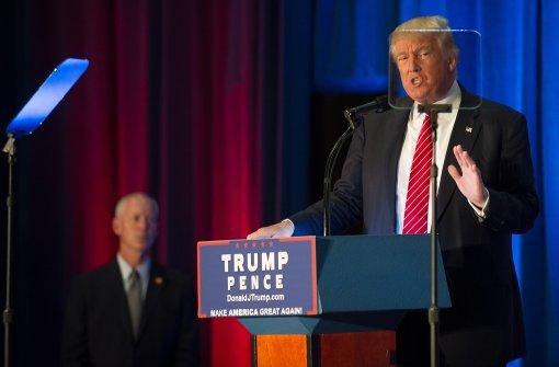 Trump kritisiert deutsche Flüchtlingspolitik