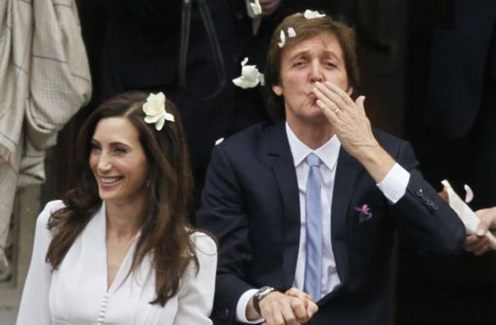 All you need is love: Paul McCartney heiratet zum dritten Mal