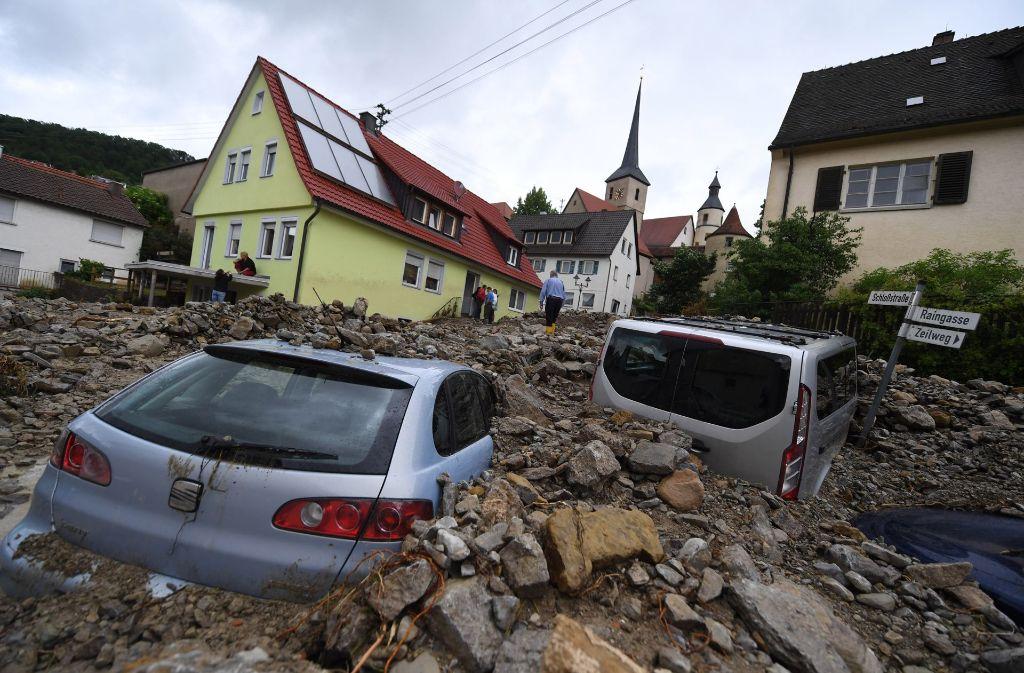 überflutung Baden Württemberg