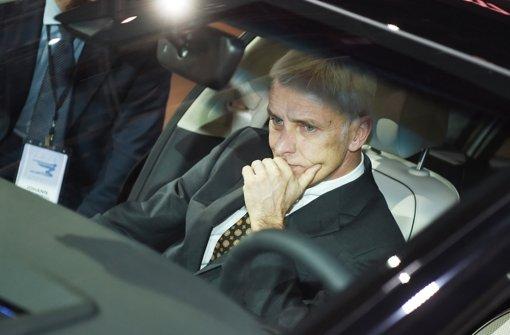 VW-Chef Matthias Müller muss für VW den Sündenbock machen Foto: dpa