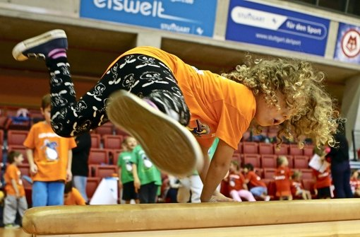 StNKitaSpiele in Stuttgart Jede Menge Sport und ganz