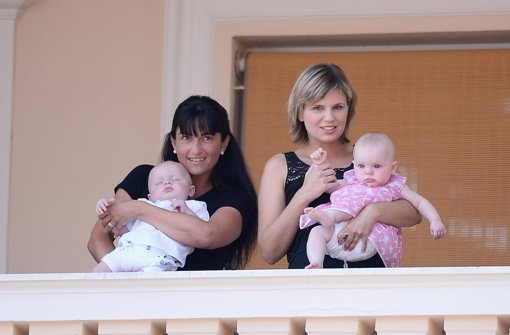 Doppeltes Baby-Glück: Gabriella und Jacques heißen die Zwillinge von Fürst Albert von Monaco und seiner Frau Charlène. Foto: Getty Images Europe
