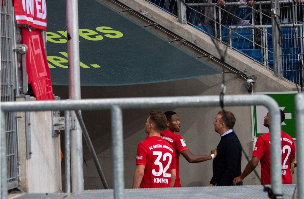 Spiel Bei 1899 Hoffenheim Bayern Fans Sorgen Mit Hass Banner Fur