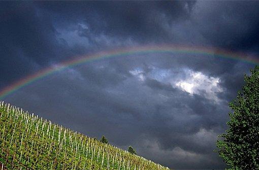 Am Freitag kann es regnen und gewittern. Foto: Leserfotograf rika