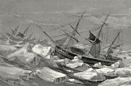 Tödliche Wegsuche im Eismeer