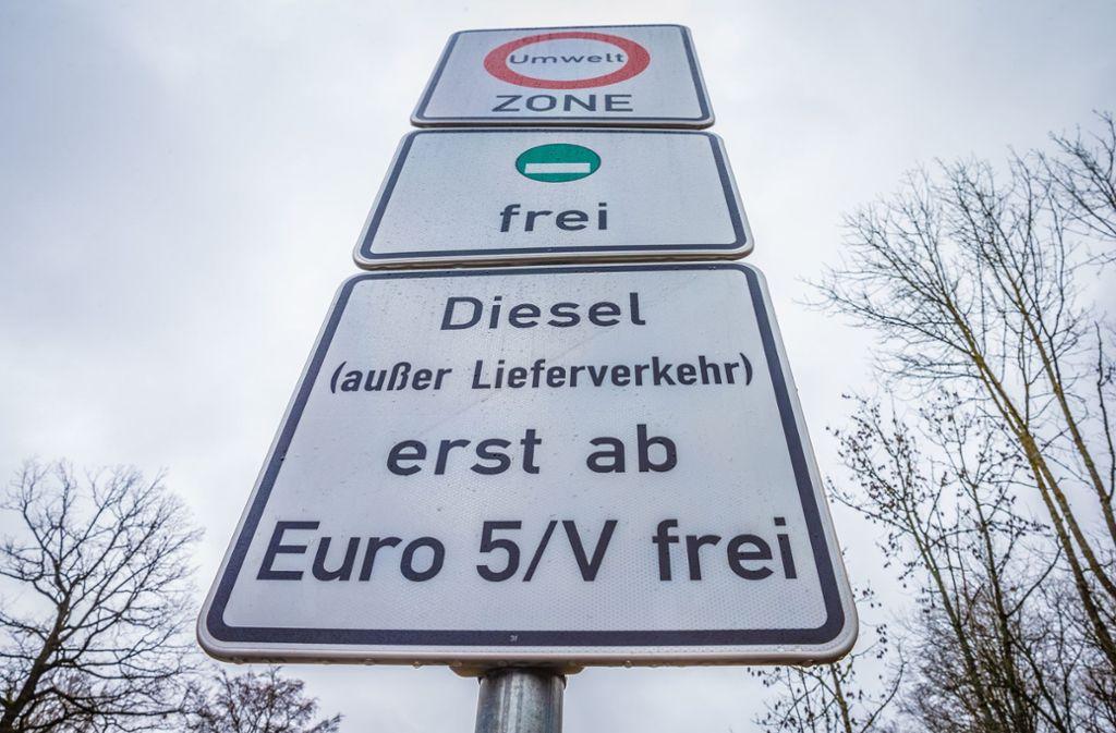 Stuttgart Fahrverbot Diesel