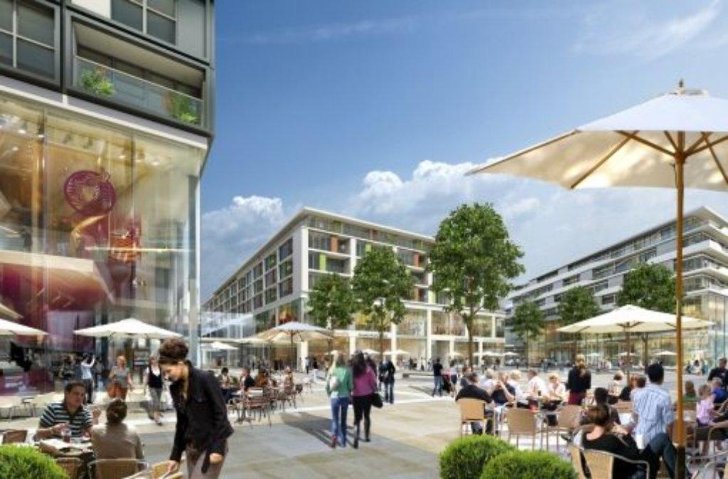 Stuttgart keine mehrheit f r einkaufszentrum stuttgart for Einkaufszentrum stuttgart