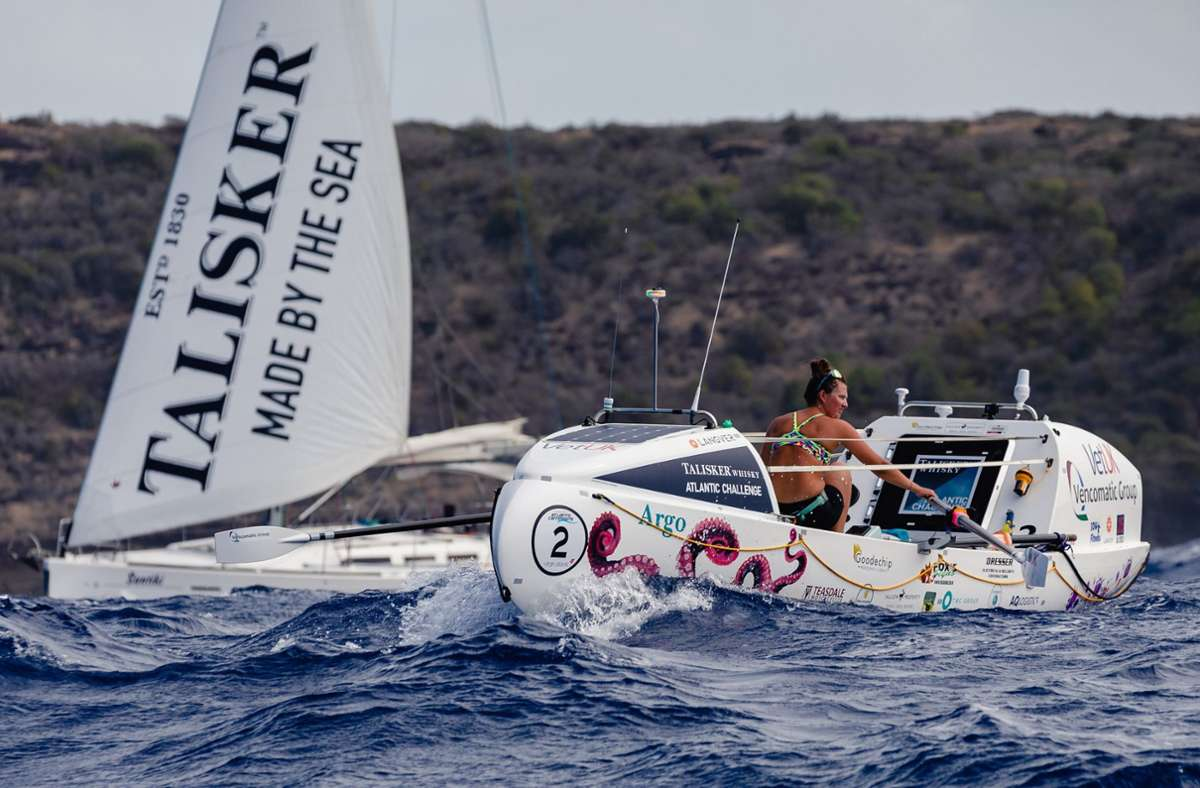 Bildergebnis für 21-jährige Britin Jasmine Harrison überquert als jüngste Frau allein den Atlantik