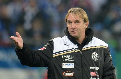 Der Trainer der Stuttgarter Kickers, Gerd Dais. Foto: dpa