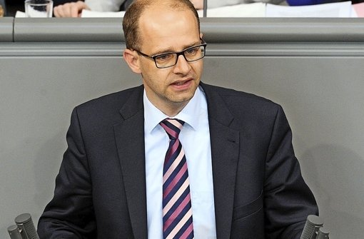 """""""Die Hand reichen beim Sterben und nicht zum Sterben"""", sagt Michael Brand, CDU-Bundestagsabgeordneter. Foto: Bundestag"""