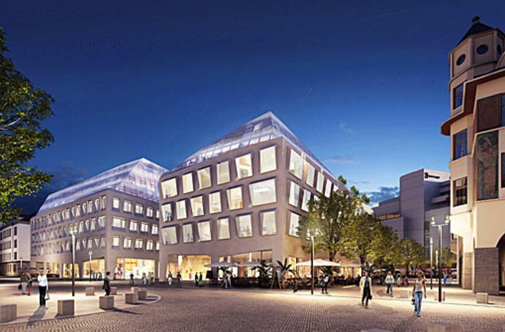 Karlsplatz breuninger und stadt einig ber neubau stuttgart stuttgarter nachrichten - Architekten kreis ludwigsburg ...